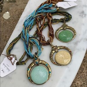 Three BoHo fashion necklaces
